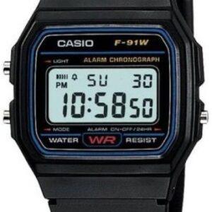 Мужские часы Casio F-91W-1Q