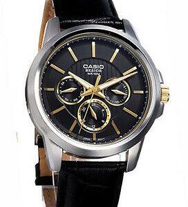 Мужские часы Casio BEM-307BL-1A1VDF