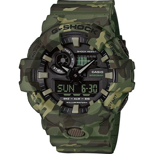 Мужские часы Casio GA-700CM-3AER G-Shock