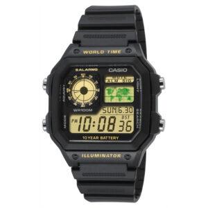 Мужские часы Casio AE-1200WH-1BVEF