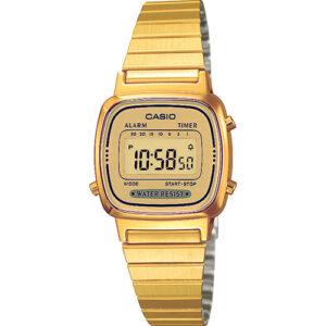 Женские часы Casio LA680WA-1BDF